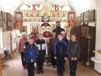 Иерей Сергий Беляков встретился с учащимися средней общеобразовательной школы села Вирга