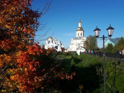 Состоялось паломничество в Свято-Троицкий Серафимо-Дивеевский женский монастырь