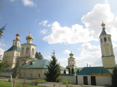Пензенские паломники посетили Иоанно-Богословский мужской монастырь в Мордовии