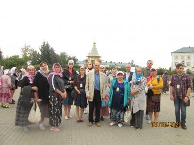 Паломники из Пензы посетили Серафимо-Дивеевский монастырь