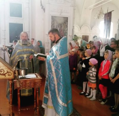 В пензенских храмах отслужили молебен на начало учебного года