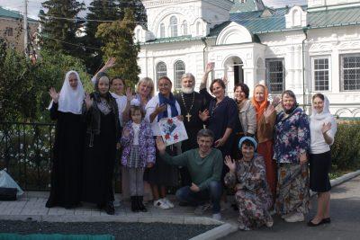 На базе Троицкого монастыря прошел методический семинар-тренинг по развитию навыков работы с подростками