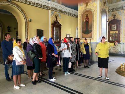 В Покровском соборе прошли экскурсии для школьников и работников лесной отрасли