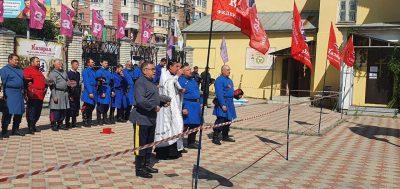 На площади Покровского собора состоялся чемпионат Поволжья по рубке шашкой