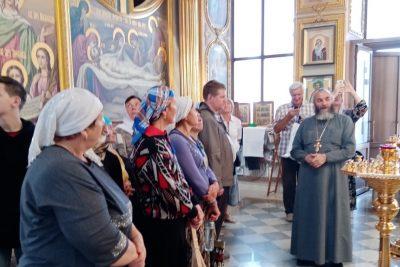 Пензенские паломники посетили Соловцовку