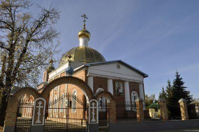 Завершились работы по реконструкции центрального купола Никольского храма в Терновке