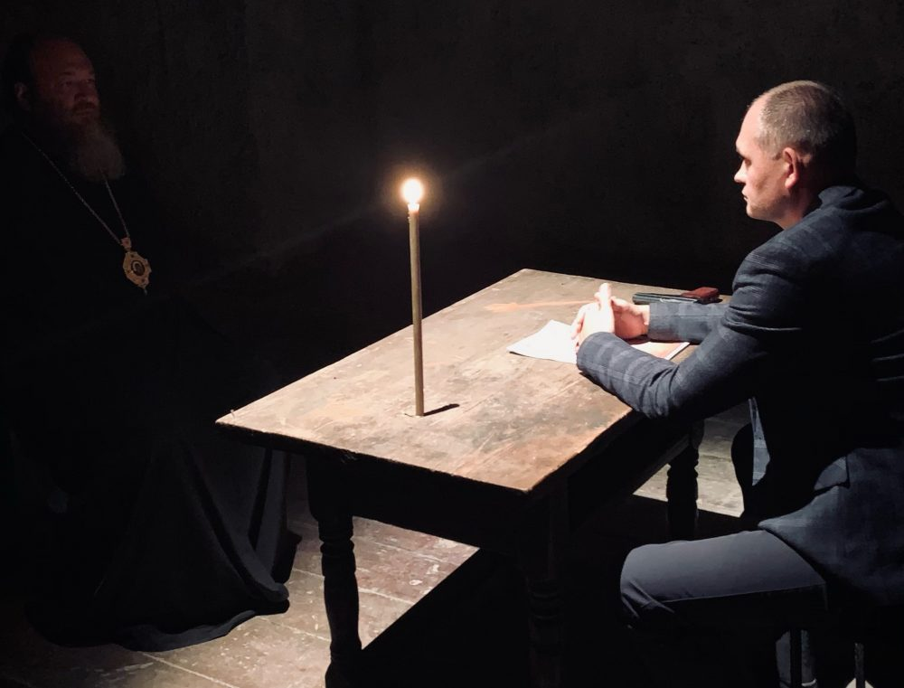 В Пензе продолжаются съемки фильма о священномученике Иоанне Рижском