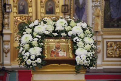 В день памяти священномученика Иоанна (Поммера) состоялась прямая трансляция Литургии на телеканале «Союз»