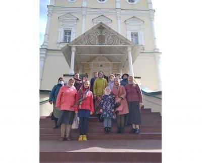 Состоялось паломничество в Иоанно-Богословский мужской монастырь в селе Макаровка