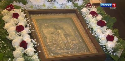 В день памяти Сергия Радонежского в приход села Вирга вернули икону великого святого