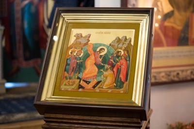 В Неделю 23-ю по Пятидесятнице митрополит Серафим совершил Литургию в Спасо-Преображенском мужском монастыре