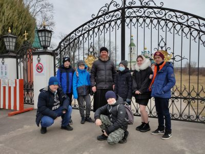 Юные разведчики посетили места, связанные с жизнью и подвигом святого воина Феодора Ушакова