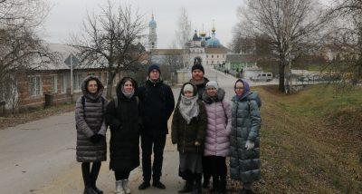 Активисты православного студенческого объединения «Татьянин день» совершили паломничество в Оптину пустынь