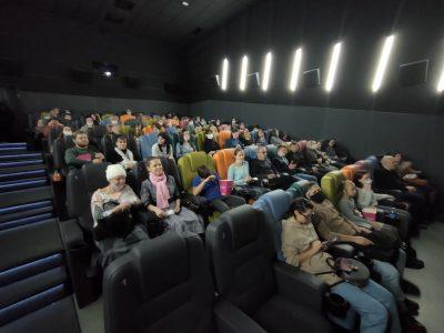 Состоялся коллективный поход в кино участников Союза православной молодежи