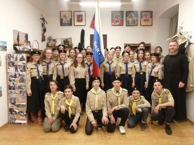 Юные разведчики представили Пензенскую митрополию на 20-х курсах для вожаков «Град Китеж» в Москве