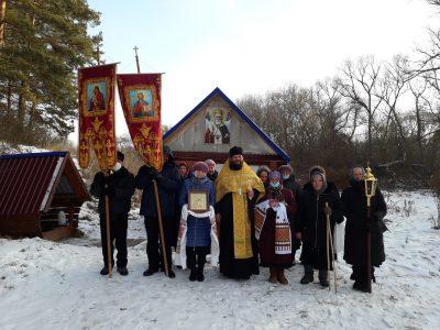 Празднование памяти святителя Николая Чудотворца в селе Вирга