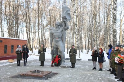 Священник Александр Рысин принял участие в мероприятии, посвященном Дню Неизвестного солдата