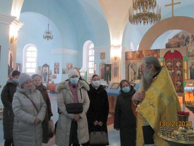 Состоялось паломничество в Покровский храм села Черкасское