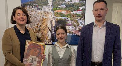 Представитель Пензенской епархии поблагодарила соорганизаторов выставки «Золотое кольцо Сурского края»