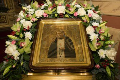 В канун дня памяти преподобного Серафима Саровского митрополит Серафим совершил всенощное бдение в Успенском соборе Пензы
