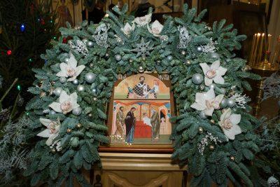 В канун праздника Обрезания Господня митрополит Серафим совершил всенощное бдение в Петропавловском храме Пензы