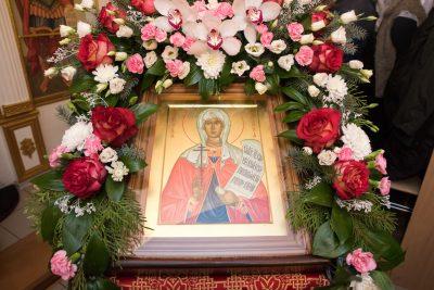 В день престольного праздника митрополит Серафим совершил Литургию в Татианинском храме при ПГУАС