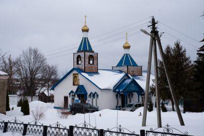 В Неделю 34-ю по Пятидесятнице митрополит Серафим совершил Литургию в Казанской церкви села Грабово