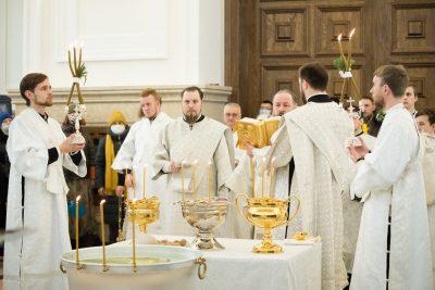 Торжества по случаю Крещения Господня прошли в Спасском кафедральном соборе