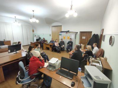 Коллегия отдела по делам молодежи Пензенской епархии состоялась в здании епархиального управления