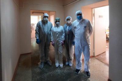 Клирики Пензенской епархии поздравили пациентов covid-госпиталей с Крещением Господним