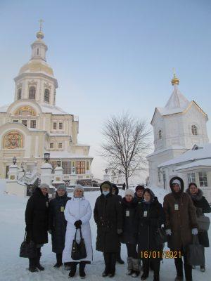 Состоялось паломничество в село Дивеево