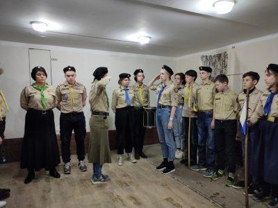 Пензенские разведчики НОРД «Русь» стали участниками Рождественского фестиваля в Обнинске