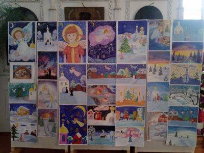 Выставка детских рисунков «Ангел Рождества» прошла в Верхнем Ломове