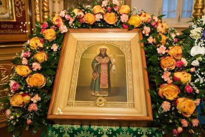 В канун дня памяти святителя Феодосия Черниговского митрополит Серафим совершил всенощное бдение в Митрофановском храме