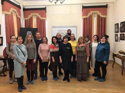 Представители православной молодежи посетили выставку «Чехов, Бунин, Куприн. Судьбы скрещенья»