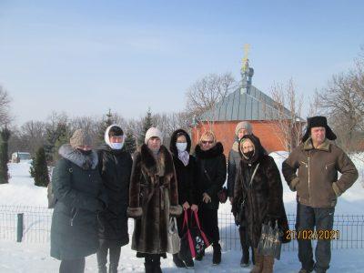Состоялось паломничество в пещерный монастырь Казанской Алексиево-Сергиевской пустыни в Сазанье