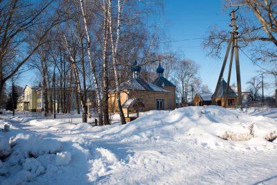 В Неделю о Страшном Суде митрополит Серафим совершил Литургию в Богоявленском храме села Рамзай