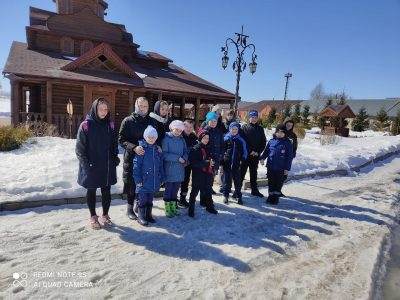 Воспитанники воскресной школы села Вирга посетили Нижнеломовский Казанско-Богородицкий мужской монастырь