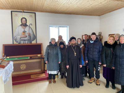 Состоялось паломничество к мощам блаженного Иоанна Кочетовского