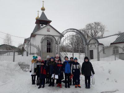 Священнослужитель рассказал учащимися средней общеобразовательной школы села Вирга о Великом посте