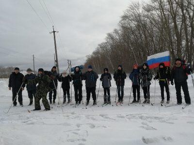 Добровольцы НОРД «Русь» почтили память участников Кубанского Ледяного похода