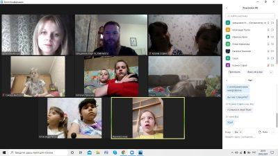 В рамках приходского проекта «Ангела ко сну» продолжаются онлайн-встречи с детьми