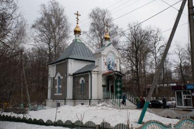 Во вторую Родительскую субботу Великого поста митрополит Серафим совершил Литургию в Сергиевском храме-часовне на Новозападном кладбище