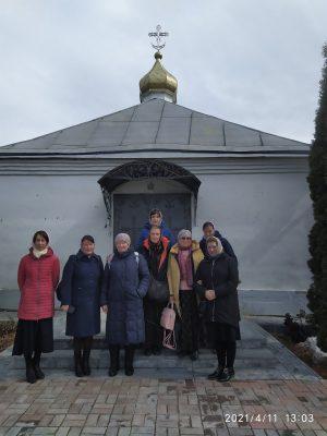 Состоялось паломничество в Свято-Троицкий мужской монастырь в селе Большое Чуфарово