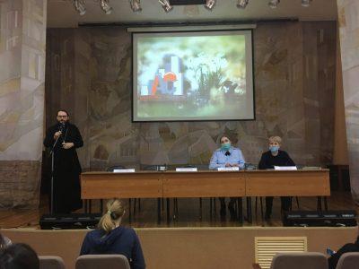 Священнослужитель рассказал студентам колледжа архитектуры и строительства о религиозном экстремизме и деструктивных культах