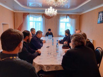 Состоялось собрание духовенства Никольского городского округа