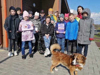 Воспитанники детской воскресной школы «Донские» приняли участие в мастер-классе в арт-поместье «Новые Берега»