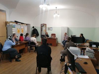 Коллегия отдела по делам молодежи Пензенской епархии прошла в здании епархиального управления