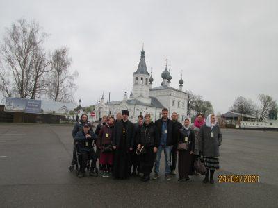 Состоялось паломничество в село Годеново и в Троице-Сергиеву Лавру
