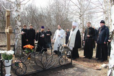 В селе Лещиново молитвенно почтили память протоиерея Виктора Правосудова на 40-й день его кончины